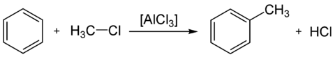 Alkylation de Friedel et Crafts du benzène